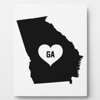 Georgia Love Plaque