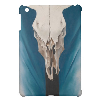 Georgia O Keeffe Cow's Skull: Red, white, and Blue Case For The iPad Mini
