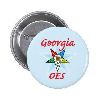 Georgia OES pin