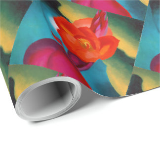Georgia O'Keefe 1919 Red Canna Wrapping Paper