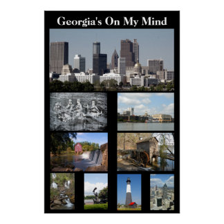 Georgia On My MInd Poster