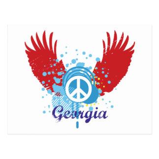 Georgia Peace Postcard