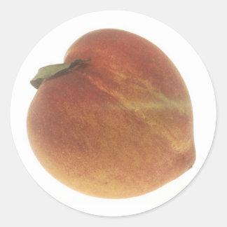Georgia Peach Classic Round Sticker