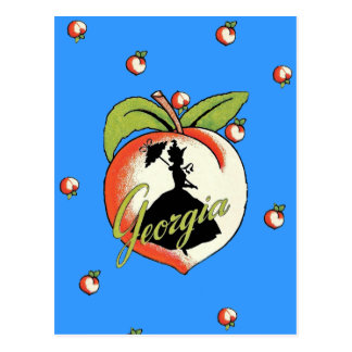 Georgia Peach PostCard