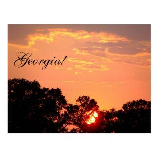 Georgia! Postcard