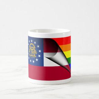 Georgia Rainbow Flag Magic Mug