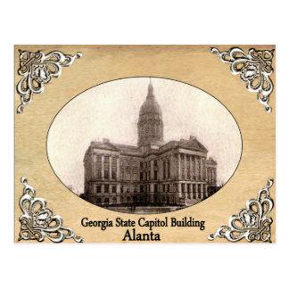 Georgia State Capitol Building Old Postcard