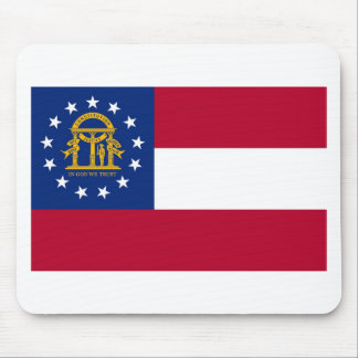 Georgia State Flag Mouse Pad