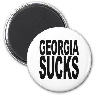 Georgia Sucks Refrigerator Magnet