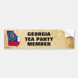 GEORGIA TEA PARTY BUMPER STICKER