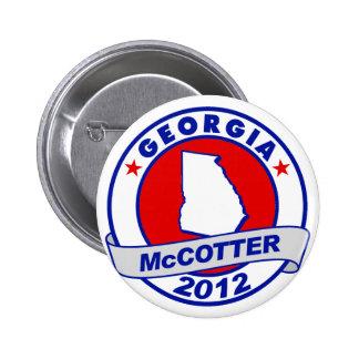 Georgia Thad McCotter Pinback Button