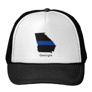Georgia Thin Blue Line Trucker Hat