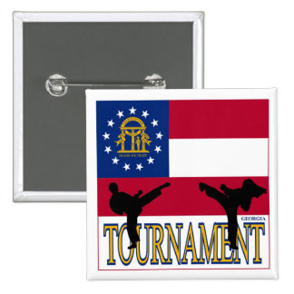Georgia Tournament Pin