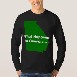 Georgia What Happens Tshirt