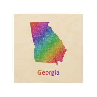 Georgia Wood Wall Art