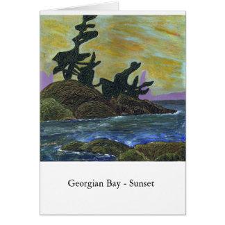 Georgian Bay - Sunset Card