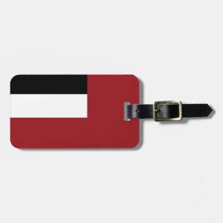 Georgian flag luggage tag