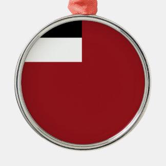 Georgian flag metal ornament