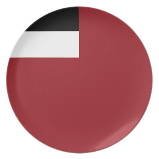 Georgian flag party plates