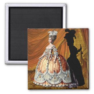 Georgian Lady - Orange Magnet