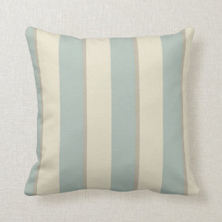 Georgian Stripe Eau de Nil Cushion