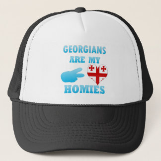 Georgians are my Homies Trucker Hat