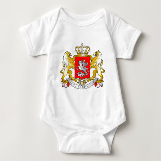 Georgia's_Large_Coat_of_Arms Baby Bodysuit