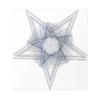 Geoscribble Star 1 Notepad