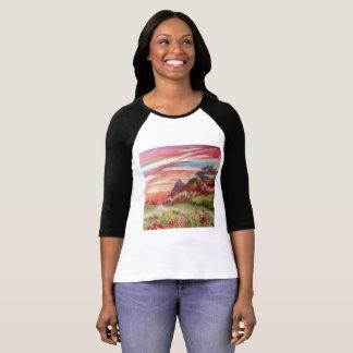 Geotic Bella+Canvas 3/4 Sleeve Raglan T-Shirt
