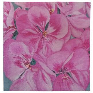Geranium Cloth Napkin
