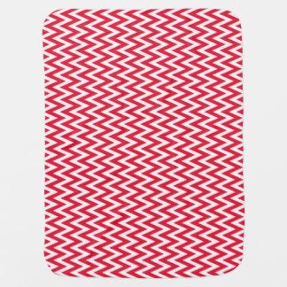 Geranium Elegant Chevron Design Swaddle Blankets