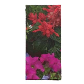 Geranium Floral Symphony Napkins
