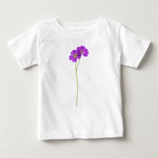 Geranium Flowers Baby Fine Jersey T-Shirt