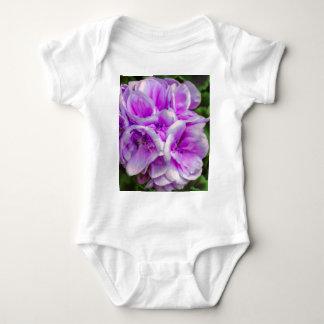 geranium  in the garden baby bodysuit