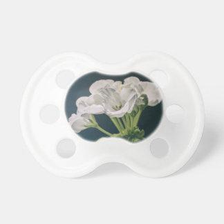 geranium pacifiers