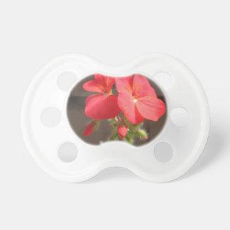 Geranium Red Pacifier