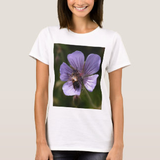 Geranium with Bee T-Shirt