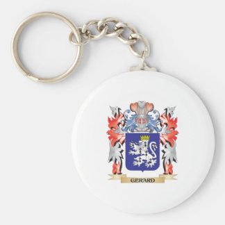 Gerard Coat of Arms - Family Crest Key Ring