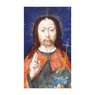 Gerard David Holy Face Canvas Print