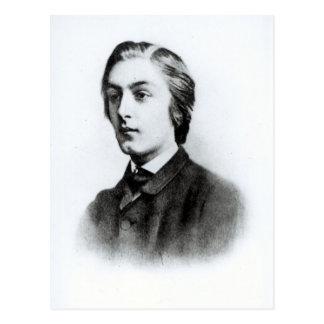 Gerard Manley Hopkins Postcard