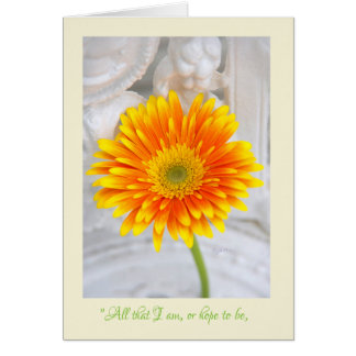 Gerber Daisy Mother's Day Greeting Card