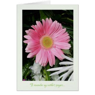 Gerber Daisy Mother's Day Greeting Card jjhelene