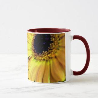 Gerbera #12 - Ringer Mug