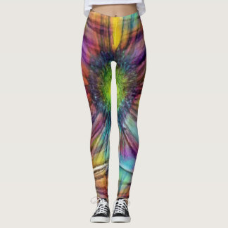 Gerbera Aquarelle Leggings