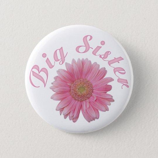 Gerbera Big Sister 6 Cm Round Badge