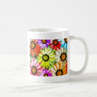 Gerbera colourful flower floral coffee mug