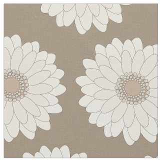 Gerbera Daisies, floral patterns Fabric