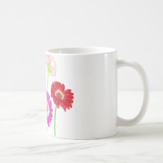 Gerbera Daisies Basic White Mug