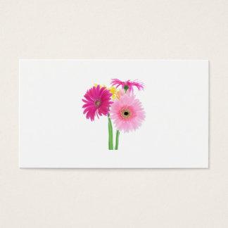Gerbera Daisies Pink Business Card