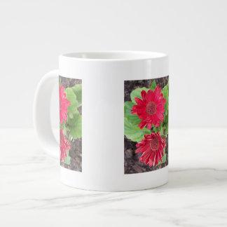Gerbera Daisies Specialty Mug 20 Oz Large Ceramic Coffee Mug